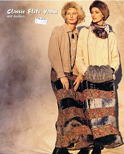 Elite Classic Cardigan (Classic Elite Yarns Knitting Pattern #469 Stockholm, Sweden - Cardigans, Sweater)