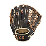Mizuno GPS1BK-700DS Pro Select Outfield Baseball Gloves, 12.75', Right Hand Throw