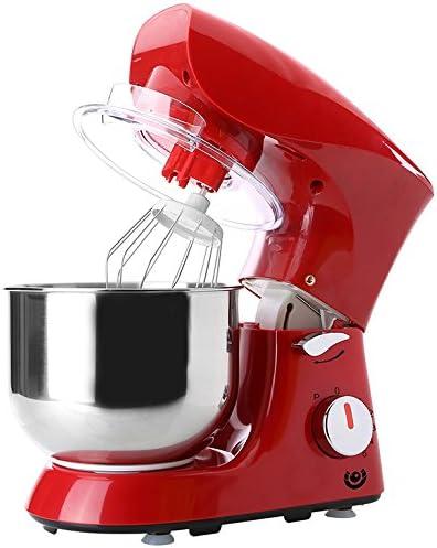 Robot de cocina batidora Cocina para amasar para mezclar eléctrica dispositivo 800 W Rojo: Amazon.es: Hogar