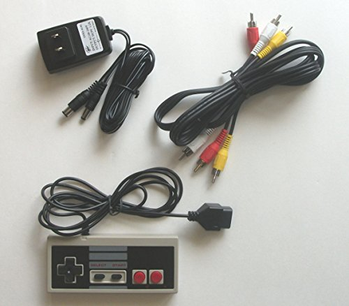 Cable Kit for NES Original: AC Adapter Power Cord and AV Cable and Controller