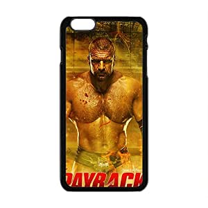 WWE Wrestling Fighter Black Phone Case for Iphone6 plus