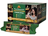 Pine Mountain 6PK 2HR Trad Fire Log, 6 Firelogs, 2-Hour Burn Time, 6 Piece