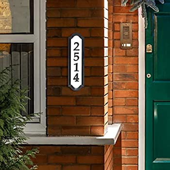 Whitehall Products Nite Bright Reflective Address Sign, 16