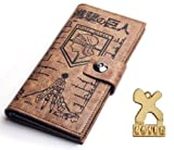 Attack on Titan Japanese Anime Cosplay Eren Mikasa Levi Wallet Scouting Legion Badge Wallet Purse Cosplay Prop Coslive, Baby & Kids Zone