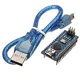 Doradus ATmega328P Arduino Compatible Nano V3 Improved Version With USB Cable