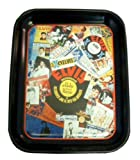 Elvis Presley History Collage Metal Collectible Rock n Roll Tray