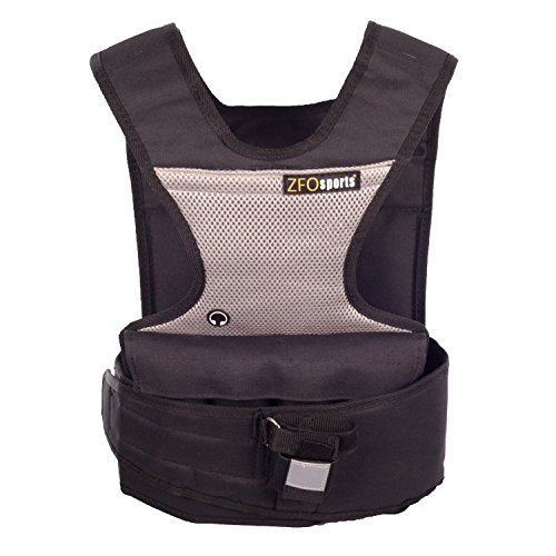 Weighted Short Training - ZFOsports ( Short Adjustable Weighted Vest with Phone Pocket & Water Bottle Holder (30.00)