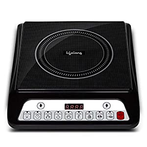 Lifelong Inferno LLIC30 2000 Watt Induction Cooktop for Home with 7 Preset Indian Menu Option and Auto-Shut Off | Easy…