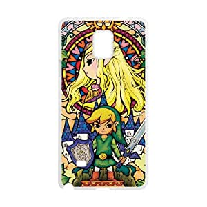 Legend of Zelda Samsung Galaxy Note 4 Cell Phone Case White 8You032787