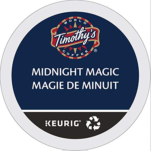 (Timothy's World Coffee, Midnight Magic,  K-Cup Portion Pack for Keurig K-Cup Brewers 24-Count  (Pack of 2))