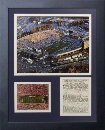 Legenden Sterben Nie New England Patriots Foxboro Stadion gerahmtes Foto Collage, 11 von 35,6 cm von Legends Never Die