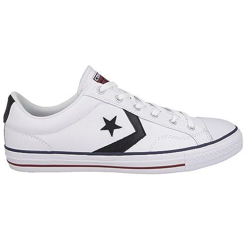 Converse - Zapatillas para Hombre Blanco Blanco: Amazon.es: Zapatos y complementos