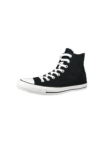 Converse Chucks 155383C Chuck Taylor All Star Americana Embroidery HI Black  White Black Black  Amazon.co.uk  Shoes   Bags 7e6975926