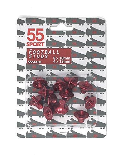 55 Calcio Lega Da 8 13 nbsp;mm nbsp;sport Custom Per nbsp;x Pro 4 10 In Leggera nbsp;x Red nbsp;mm Scarpe rrzH8