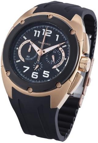 Time Force TF3132M15 - Reloj analógico de caballero de cuarzo con correa negra