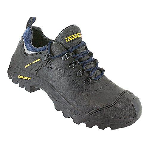 Baak 6384 - Zapatos zapatos de seguridad s3 hro barney src seguridad construcción bgr191, negro, 45-00-47