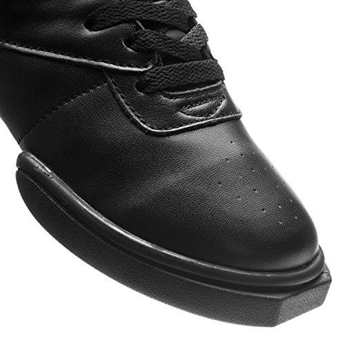 Jazz Hop Sports Basket Fitness Dance Top Rumpf 1500 De Hip Danse Sneaker Noir High Street Tw5xBg