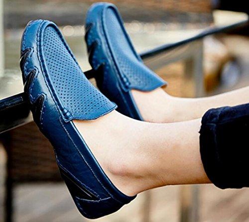 Ed Affari Piselli Scarpe da di Set Scarpe Primavera Libero Estate Uomo Bluebreathable Tempo PtqBtx6