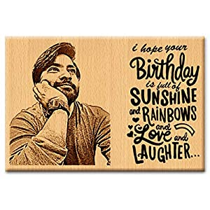 Incredible Gifts India Birthday Gift – Unique Personalized Engraved Plaque