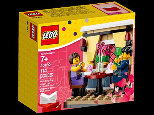 LEGO Valentine's Day Valentines Day Dinner Set #40120