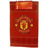 Manchester United Football Club Fc Bedroom Floor Rug/Mat (50 X 80 Cm) (Red)