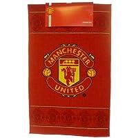 Manchester United Football Club Fc Bedroom Floor Rug/Mat (50 X 80 Cm) (Red)
