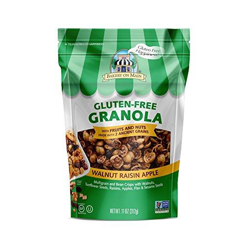 Bakery on Main Gluten Free Non GMO Granola, Walnut Raisin Apple, 11 Ounce