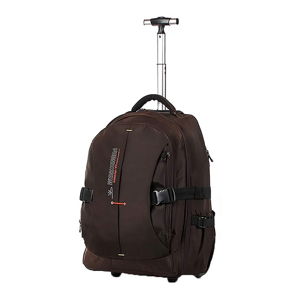 スーツケース トロリーケース4輪出張旅行外出トロリーバッグ大容量ライトトラベルバッグドラッグバッグハンドバッグトランク旅客ボックス (色 : Brown, サイズ さいず : 32*18*52cm) 32*18*52cm Brown B07KSRBXGW