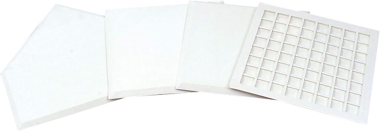 Champro Boxed Waffle Base, Set of 4 (White)