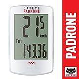 Cateye Padrone White Speedometer 2017