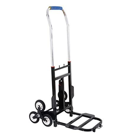 Amazon com : Hand Truck with Rubber Wheels Support Design
