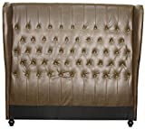 New Pacific Direct 357888B-V06 Alice King Bonded Leather Headboard