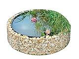 BELLISSA Garden High Pond Gabion 490 Liter Diameter 146 Centimeter