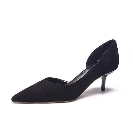 42da687f87cf6 Amazon.com : GTVERNH Women's shoes/fashion/Single Shoe Female Summer ...