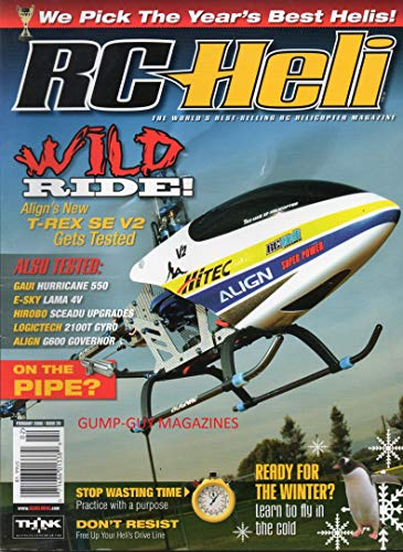 - RC Heli Best Selling RC Helicopter Magazine WILD RIDE: ALIGN'S T-REX SE V2 TESTED Gaui Hurricane 550 E-SKY LAMA V4 Hirobo Sceadu Upgrades LOGICTECH 21 OOT GYRO Align G600 Governor WE PICK THE BEST