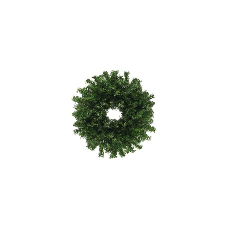 30 Canadian Pine Artificial Christmas Wreath   Unlit