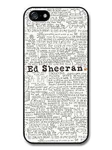 Ed Sheeran Songs Lyrics case for iPhone 4s 4s