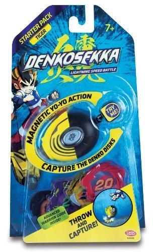 Denko Sekka Tiger Starter Pack - (1) Tiger Catcher and (4) Coins...