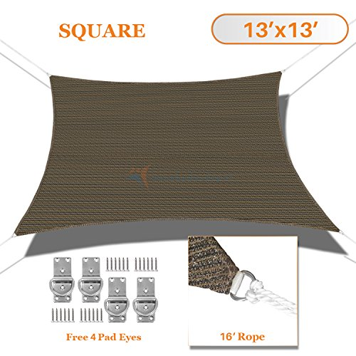 sunshades-depot-13-x-13-sun-shade-sail-square-permeable-canopy-brown-coffee-custom-size-available-co