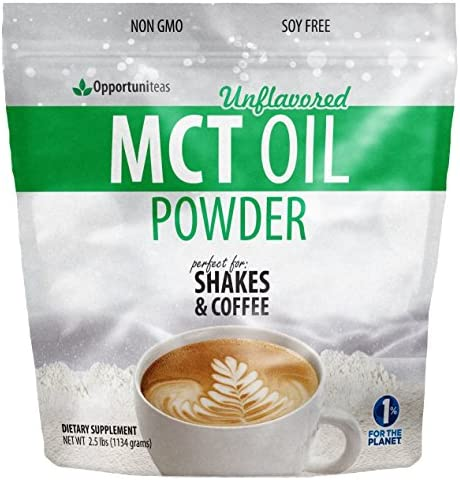 MCT Oil Powder Delicious Ketogenic product image