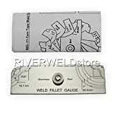 7piece Fillet Weld Set Gage Rl Gauge Welding