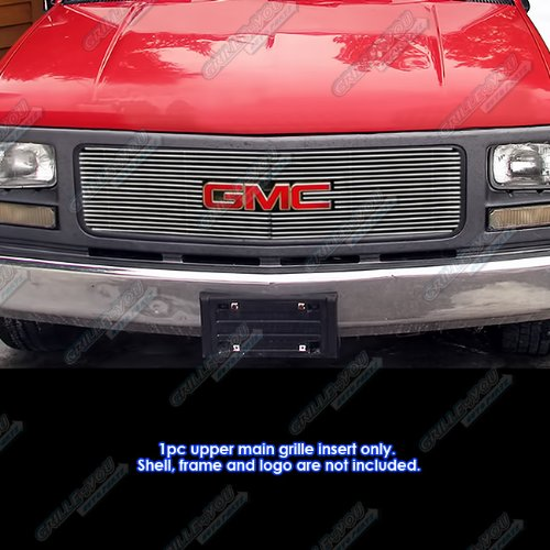 APS G65271A Polished Grille Bolt Over for select GMC C1500 Models