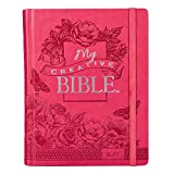 Holy Bible: My Creative Bible KJV: Pink Hardcover Bible for Creative Journaling