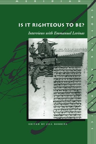 Is It Righteous to Be? Interviews with Emmanuel ()