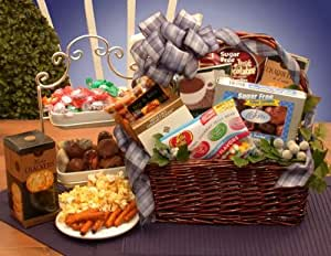 Simply Sugar Free Gift Basket - Medium Brown