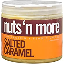 Nuts N More Salted Caramel High Protein Peanut Butter 16 Ounce
