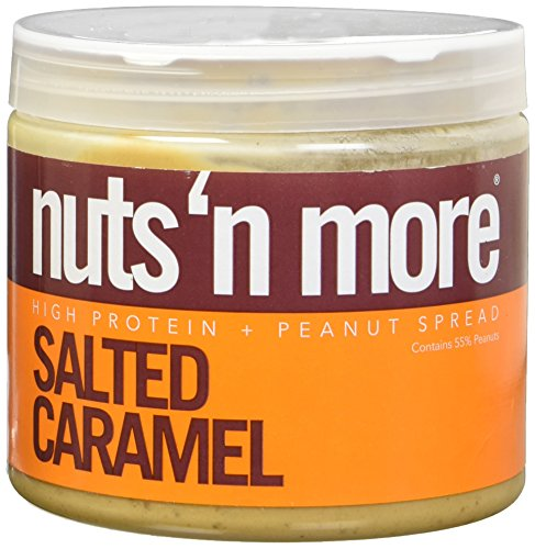 Nuts N More Salted Caramel High Protein Peanut Butter 16 - Butter Salted