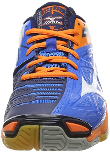 Mizuno Wave Stealth 3, Scarpe Pallamano da Uomo Blu (Blue (Directoire Blue/Orange))