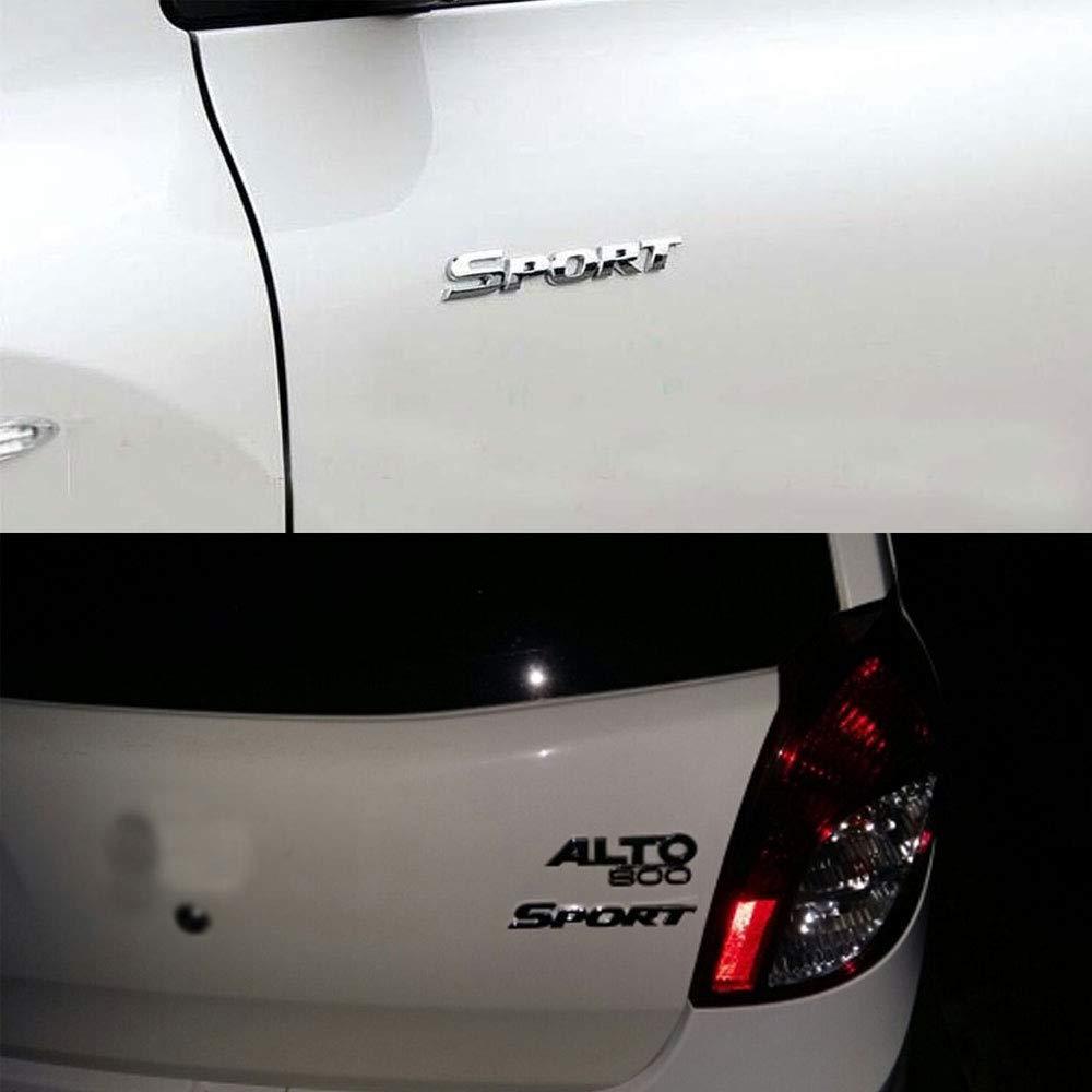 DSYCAR Emblema distintivo in metallo per auto 3D SPORT Car Trunk Auto Logo Adesivo adesivo decalcomania per accessori decorativi Car Styling