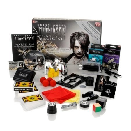 Criss Angel MindFreak Platinum Magic Kit w/ Instructional DVD by As Seen On TV (Image #1)
